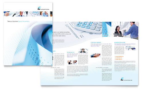 Accounting Firm Brochure - Microsoft Office Template