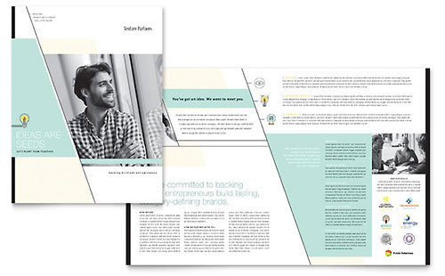 Venture Capital Firm Brochure Template - Microsoft Office