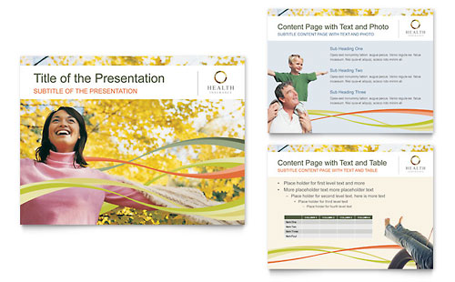 Health Insurance Company PowerPoint Presentation - Microsoft Office Template