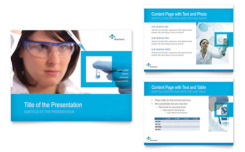 Science & Chemistry PowerPoint Presentation - Microsoft Office Template