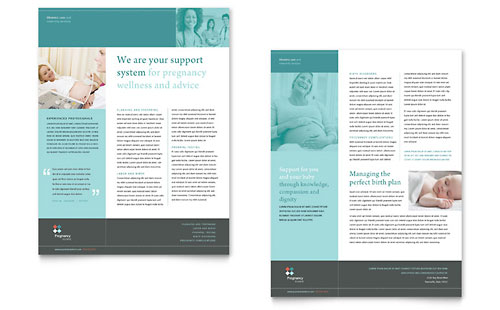 Pregnancy Clinic Datasheet Template - Microsoft Office