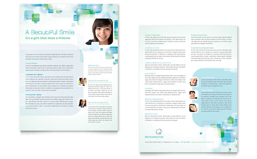 Orthodontist Datasheet - Microsoft Office Template
