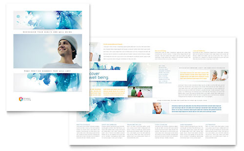 Behavioral Counseling Brochure Template - Microsoft Office