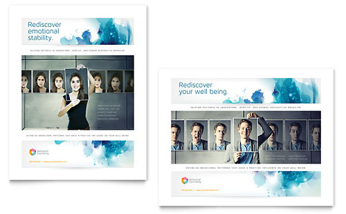 Behavioral Counseling Poster - Microsoft Office Template