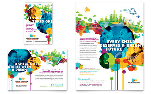 Youth Program Flyer & Ad Template - Microsoft Office