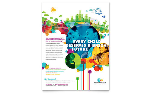 Youth Program Flyer - Microsoft Office Template