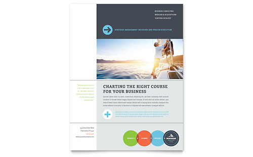 Business Analyst Flyer Template - Microsoft Office