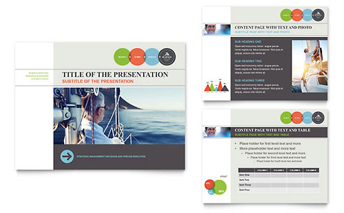 Business Analyst PowerPoint Presentation Template - Microsoft Office