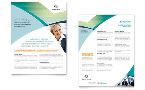 Business Training Datasheet Template - Microsoft Office