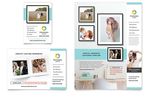 Photographer Flyer & Ad Template - Microsoft Office