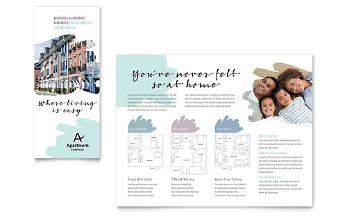 Apartment Brochure Template - Microsoft Office