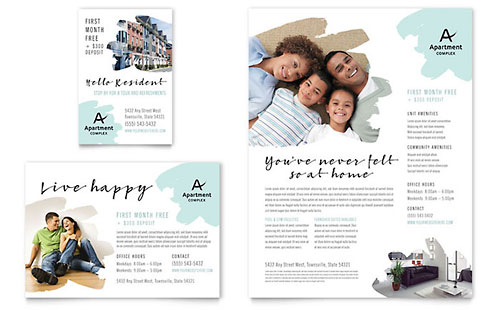 Apartment Flyer & Ad Template - Microsoft Office