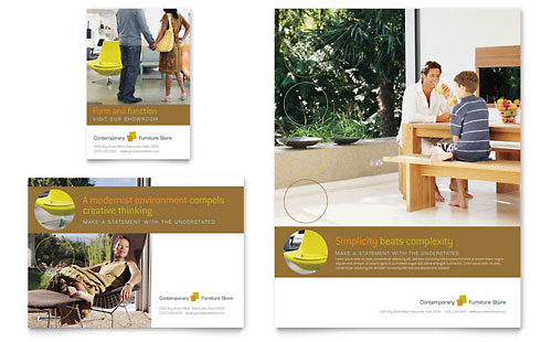 Furniture Store Flyer & Ad Template Design
