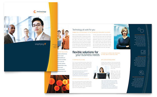 Free Brochure Template - Word & Publisher