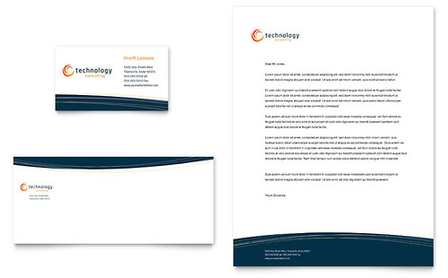 Free Business Card Template - Word - Publisher - Microsoft