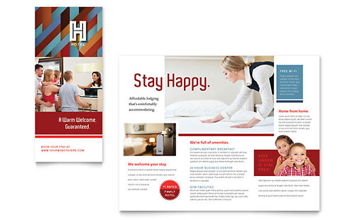Hotel Brochure Template - Microsoft Office