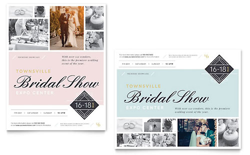 Bridal Show Poster Template - Microsoft Office