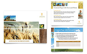 Farming & Agriculture Presentation - Microsoft PowerPoint Template