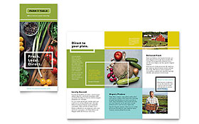 Organic Food Brochure - Office Template
