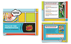 Kids Club PowerPoint Presentation - PowerPoint Template