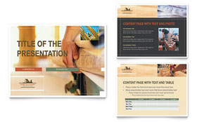 Home Builders & Construction PowerPoint Presentation - PowerPoint Template