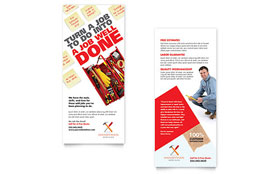 Handyman Services Rack Card - Word Template & Publisher Template