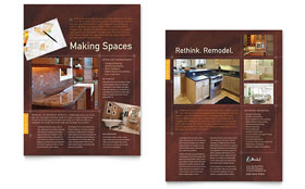 Home Remodeling - Datasheet Template