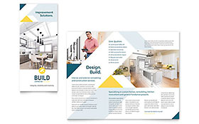 Contractor Brochure - Office Template