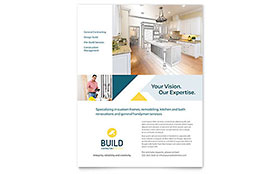 Contractor Leaflet Template