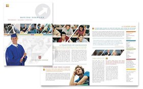 College & University Brochure - Microsoft Office Template