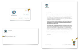 Education Foundation & School Letterhead - Word Template & Publisher Template