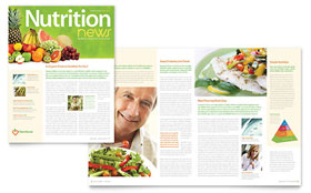 Nutritionist & Dietitian Newsletter Template