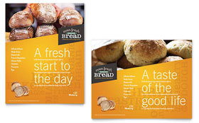 Artisan Bakery Poster - Microsoft Office Template