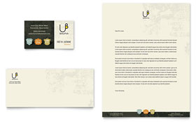 Brewery & Brew Pub Letterhead - Word Template & Publisher Template