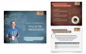 Coffee Shop PowerPoint Presentation - PowerPoint Template