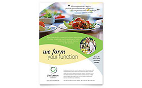 Food Catering Flyer - Microsoft Office Template