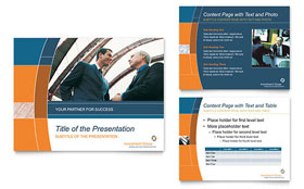 Investment Services PowerPoint Presentation - PowerPoint Template