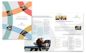 Car Insurance Company Brochure - Word Template & Publisher Template