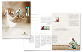 Retirement Investment Services Brochure - Microsoft Office Template