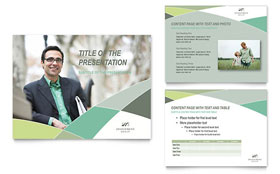 Financial Advisor PowerPoint Presentation - PowerPoint Template