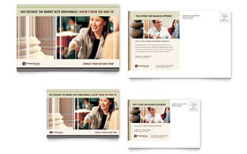 Financial Planner - Postcard Template