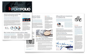Investment Bank - Newsletter Template