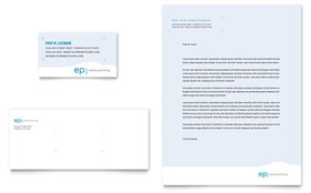 Estate Planning Letterhead - Word Template & Publisher Template