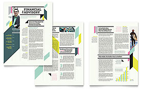 Personal Finance Newsletter - Word Template & Publisher Template