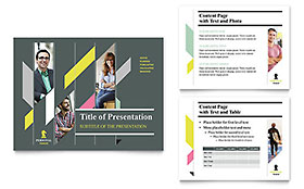 Personal Finance Presentation - Microsoft PowerPoint Template