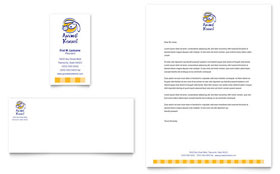Dog Kennel & Pet Day Care Letterhead - Word Template & Publisher Template
