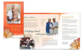 Assisted Living Facility - Brochure Template