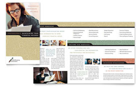 Bookkeeping & Accounting Services Brochure - Word & Publisher Template