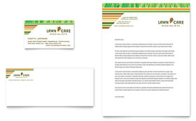 Lawn Care & Mowing Business Card Template