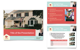 Home Real Estate Presentation - Microsoft PowerPoint Template